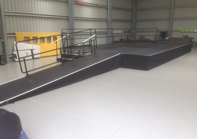 gallery/stage ramp
